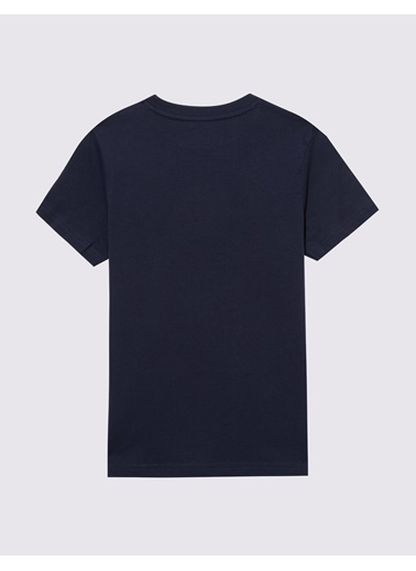 Marks & Spencer Pamuklu Grafik T-Shirt Lacivert